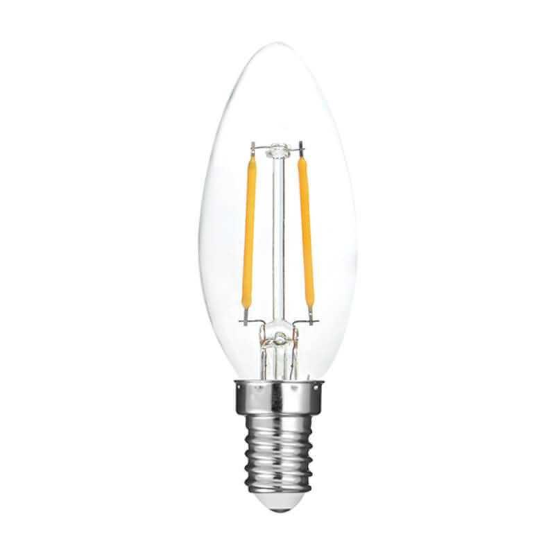 p45 led filament bulb