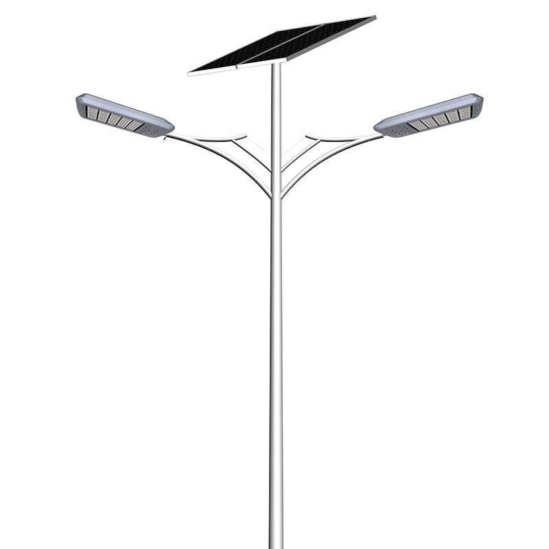 Street Light Solar: SM-08 Double Arm Solar Street Light, LED Solar Street