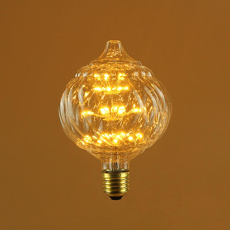 125t 125mm Globe Led Fireworks Bulb Led Starry Bulbs