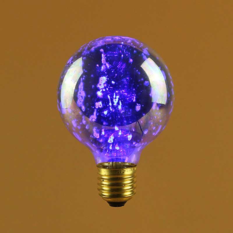 Laser Light Bulb G80 Vintage Blue Led Laser Decorative Bulb